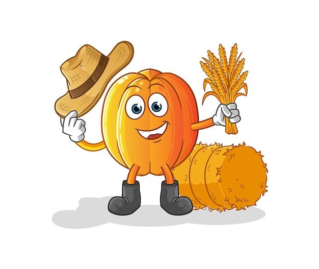 スターフルーツ農家のマスコット。漫画