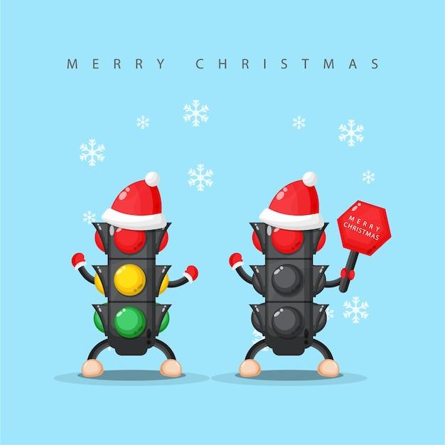 Светофор поздравляет вас с рождеством