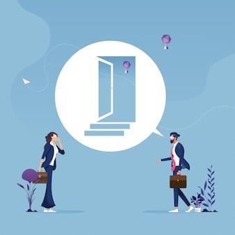 Way forward-businessの機会と課題のコンセプト