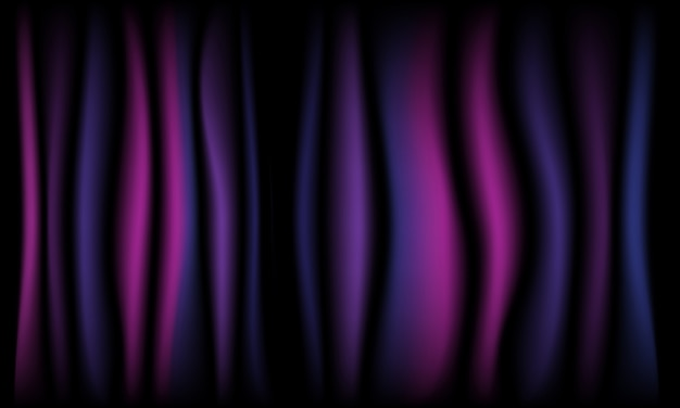 Theater curtain dark violet background with light