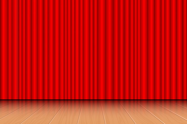 Theater curtain   illustration