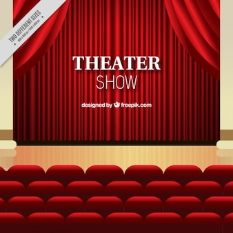 Theater play background