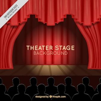 Theater scene background