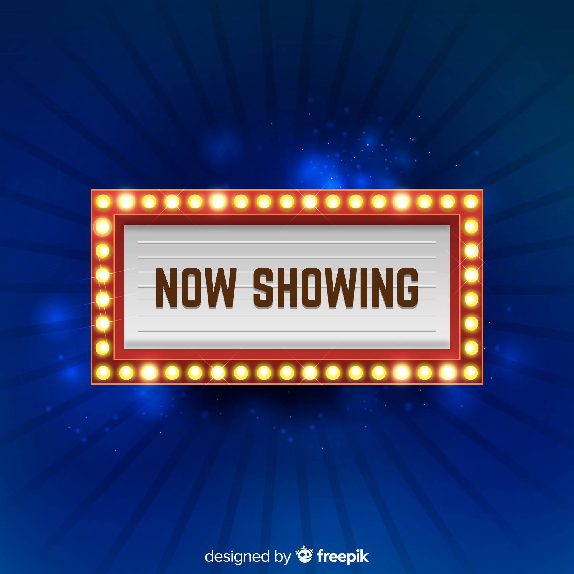 Theater Sign Background