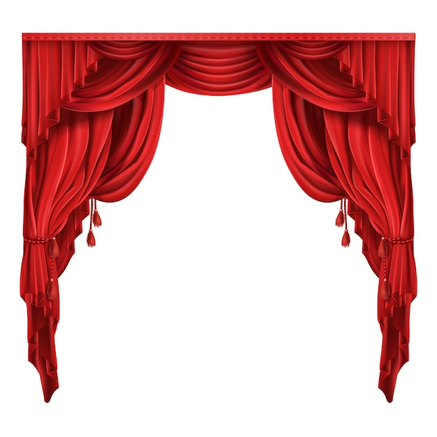 curtain vectors photos and psd files free download rh freepik com  stage curtains clipart