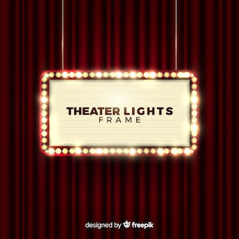 Theather lights frame
