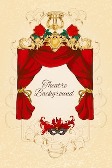 Theatre background design