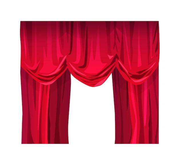 Бархатные шторы для театра или кино