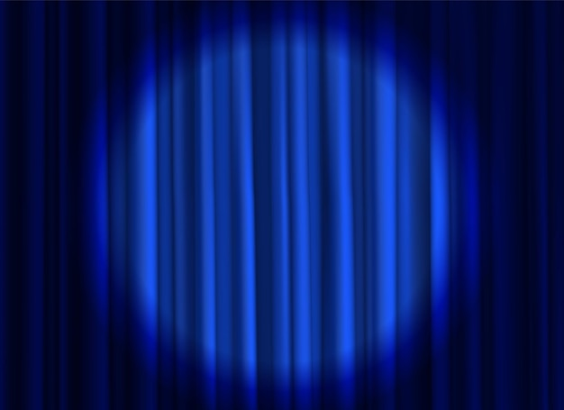 劇場用または映画用の布の豪華なシルクのエレガントな閉じたカーテン