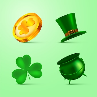 Thematic st. patricks day element collection