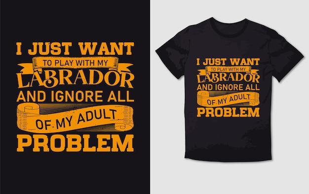 Нет ярлыков типографика дизайн футболки