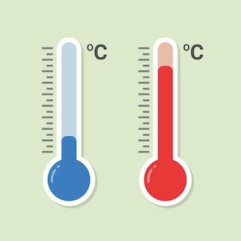 온도 측정 용 온도계