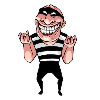 Thief bad smile