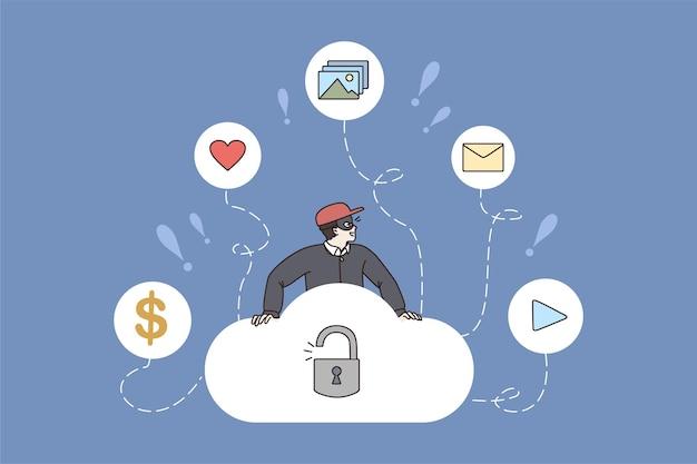 Thief взломать облачное хранилище получить личные данные