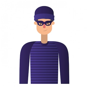 Thief man avatar character