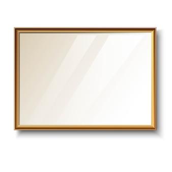 Тонкая золотая рамка
