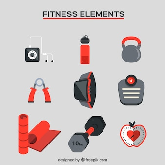 Things for fitness collection