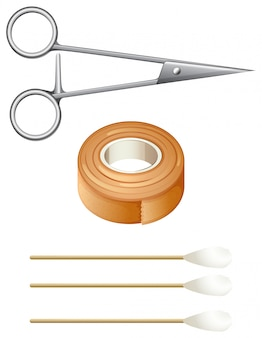 Things needed for first-aid