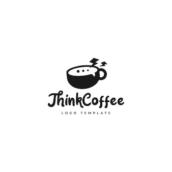 Think coffee logo  best for coffee shop