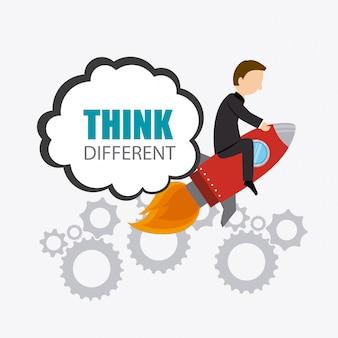 Think different design.