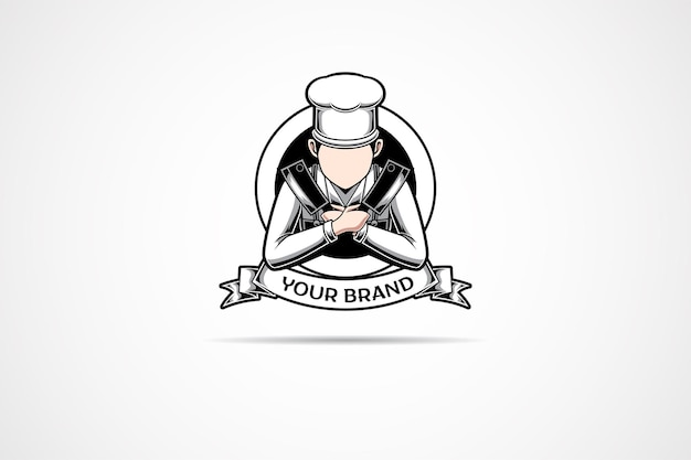 This is the logo of a chef specializing in butchers