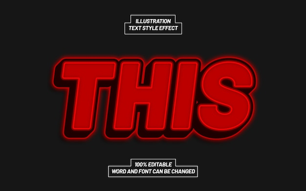 This text style effect