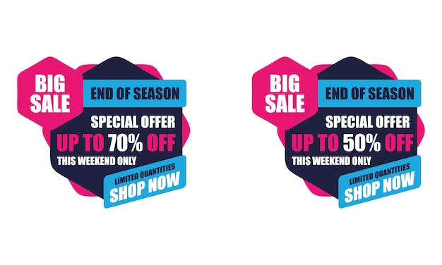 This weekend special offer big sale sticker