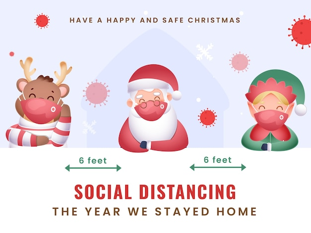 This year we celebrate merry christmas at home with maintain social distancing