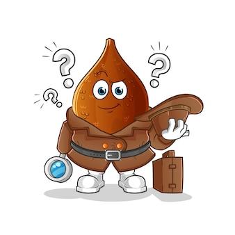 Колючая пальма детектив мультипликационный персонаж