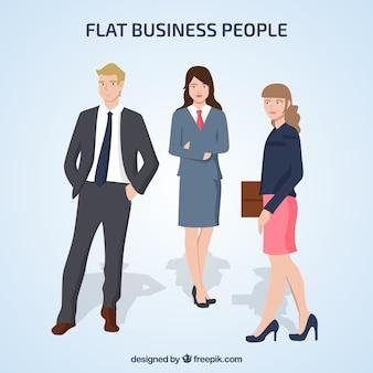 3つのビジネス人々