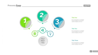 Three Circles Workflow Slide Template