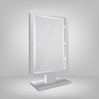 Three dimensional mirror