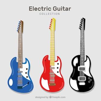 Три электрогитары