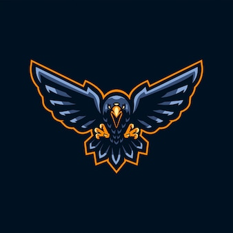 Three eyed raven esport logo design