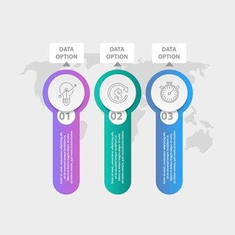 Three infographic elements.
