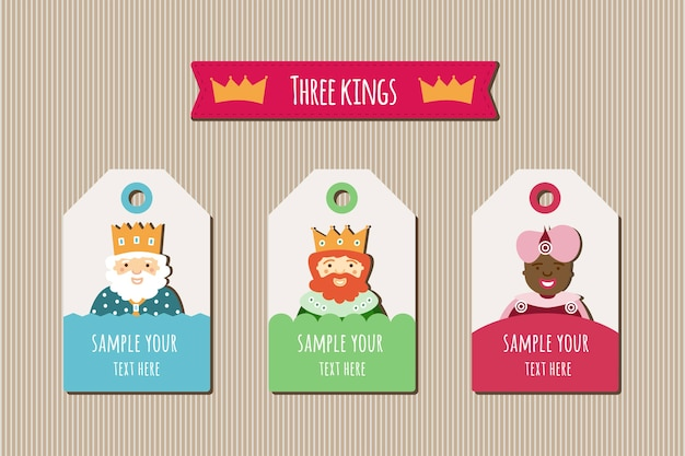 Three kings tags