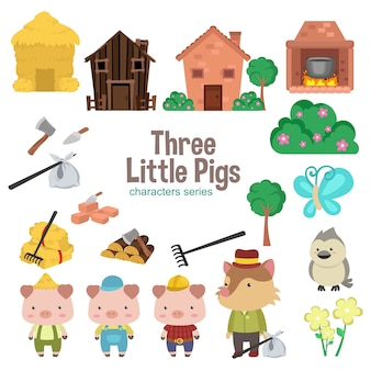 세 마리의 작은 돼지