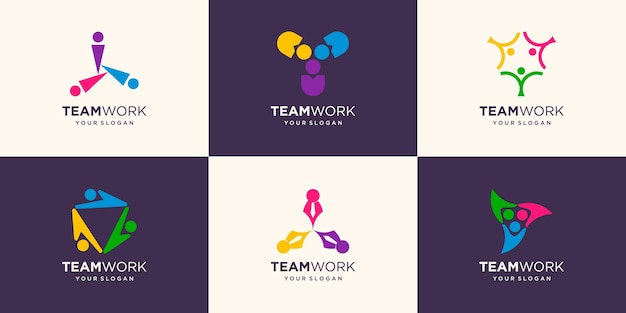 Three people collaboration. concept of teamwork and great work.