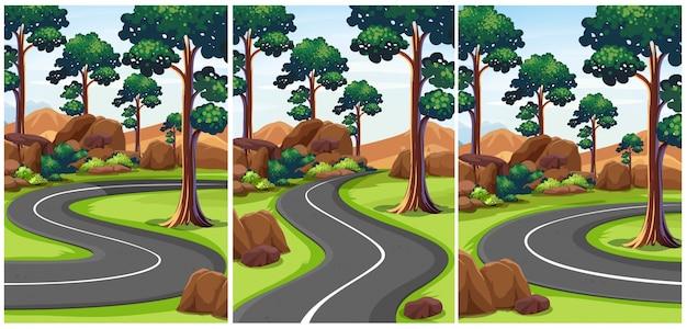 빈도와 공원의 세 장면