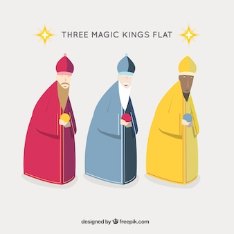 Three wise men icons