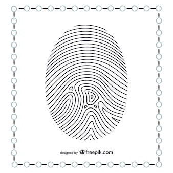 Thumb fingerprint
