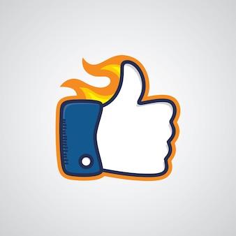 Thumb up sign