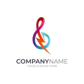 Дизайн логотипа гром
