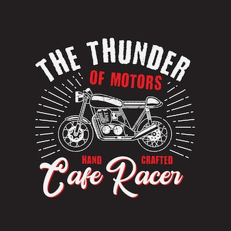 The thunder motorcycle club.
