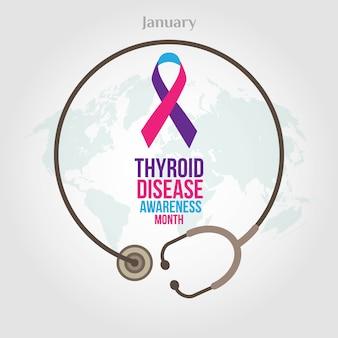 Thyroid disease awareness month