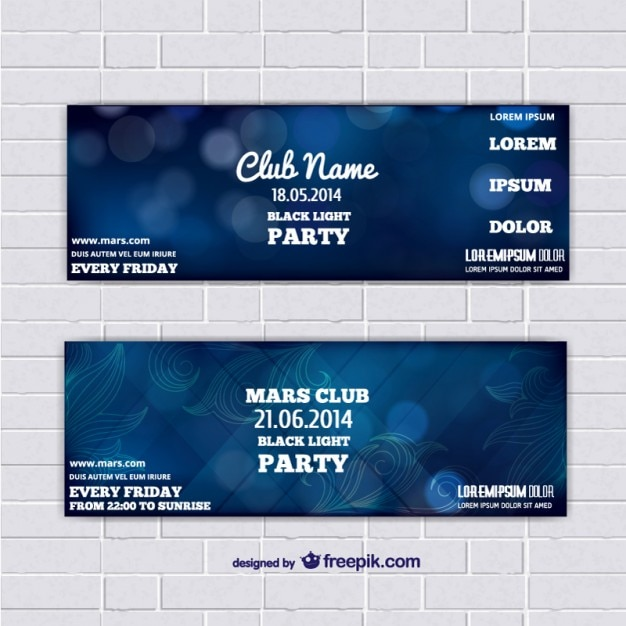 free template for event tickets