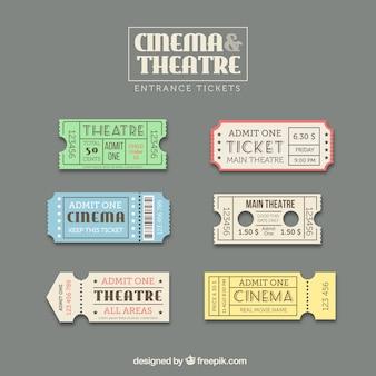 Ticket template set
