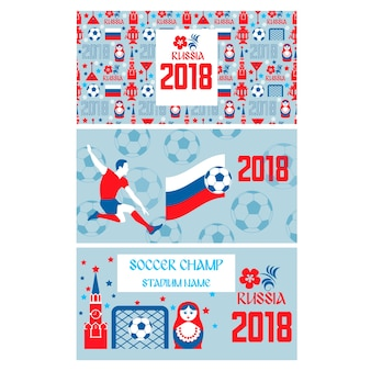 Tickets for soccer championship in russia 2018