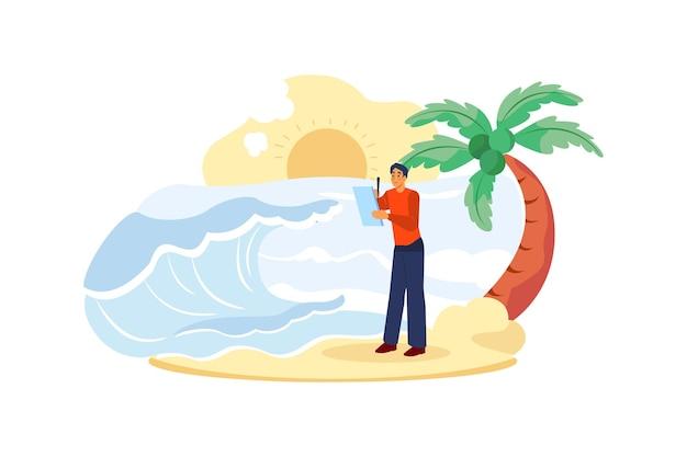 潮力図の概念