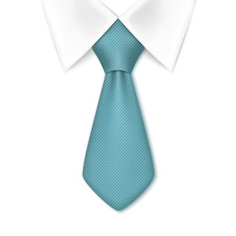 Tie isolated on white background. business man concept.